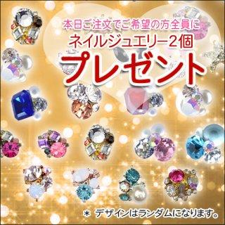 只今の全プレ!<br />ネイルジュエリー2個又は3個プレゼント!<br />ご希望の方は0円でご購入ください。プレゼントのみは送料350円かかります