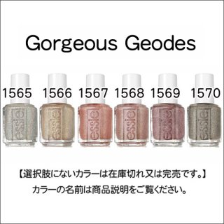 <img class='new_mark_img1' src='https://img.shop-pro.jp/img/new/icons15.gif' style='border:none;display:inline;margin:0px;padding:0px;width:auto;' />●essie エッシー  Gorgeous Geodes