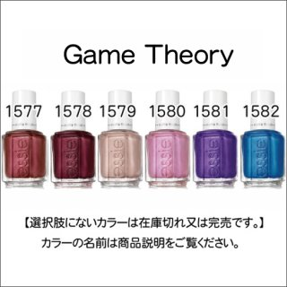 <img class='new_mark_img1' src='https://img.shop-pro.jp/img/new/icons15.gif' style='border:none;display:inline;margin:0px;padding:0px;width:auto;' />●essie エッシー  Game Theory