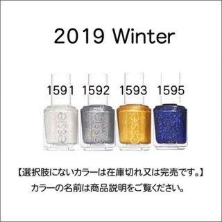 <img class='new_mark_img1' src='https://img.shop-pro.jp/img/new/icons15.gif' style='border:none;display:inline;margin:0px;padding:0px;width:auto;' />●essie エッシー  Winter 2019