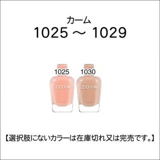 <img class='new_mark_img1' src='https://img.shop-pro.jp/img/new/icons15.gif' style='border:none;display:inline;margin:0px;padding:0px;width:auto;' />●Zoya ゾヤ 1025-1030番