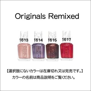 <img class='new_mark_img1' src='https://img.shop-pro.jp/img/new/icons15.gif' style='border:none;display:inline;margin:0px;padding:0px;width:auto;' />●essie エッシー  Originals Remixed コレクション