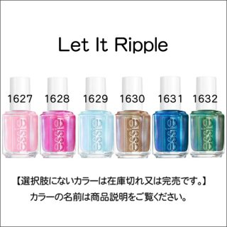 <img class='new_mark_img1' src='https://img.shop-pro.jp/img/new/icons15.gif' style='border:none;display:inline;margin:0px;padding:0px;width:auto;' />●essie エッシー  Let It Ripple コレクション