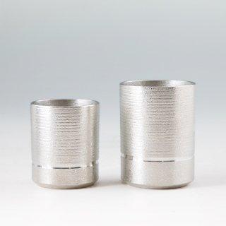 錫 コップ2個セット 清流 清流加工 商品番号:84-85/名入れ・マーク入れ 不可
