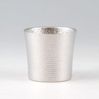 錫 タンブラー オンザロックゼロ 吹雪加工 260ml 商品番号:86A-1-1/名入れ・マーク入れ 可