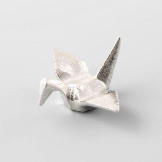 錫 箸置き つる 商品番号:170-9/名入れ・マーク入れ 不可