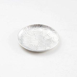 錫 銘々皿 商品番号:1300-1/名入れ・マーク入れ 不可