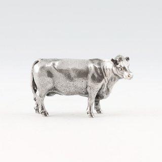 錫 置物 干支 丑(牛) 商品番号:186B-2/名入れ・マーク入れ 不可