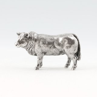 錫 置物 干支 丑(牛) 商品番号:186C-2/名入れ・マーク入れ 不可