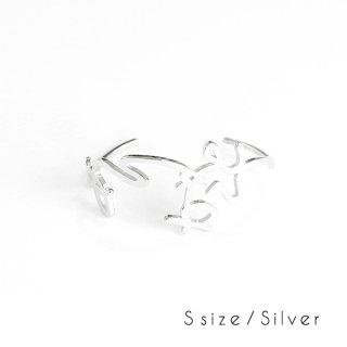hiragana BANGLE<br />ありがとう - Silver / 2size