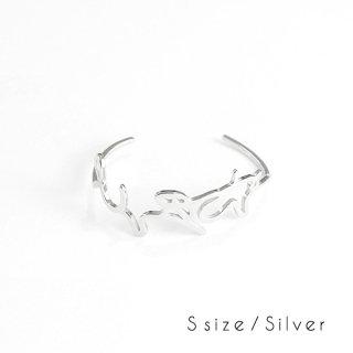 hiragana BANGLE  とうきょう - Silver / 2size