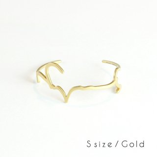 hiragana BANGLE<br />うつくしい - Gold / 2size