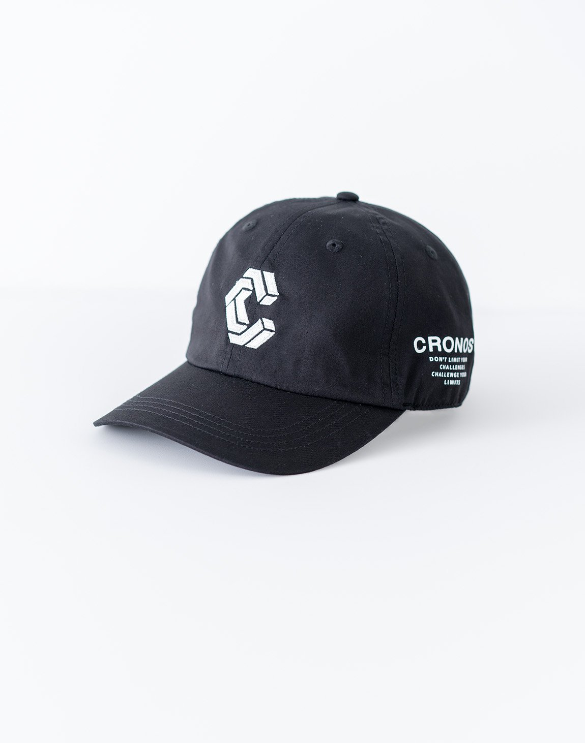 <img class='new_mark_img1' src='https://img.shop-pro.jp/img/new/icons55.gif' style='border:none;display:inline;margin:0px;padding:0px;width:auto;' />CRONOS Logo Cap-BLACK