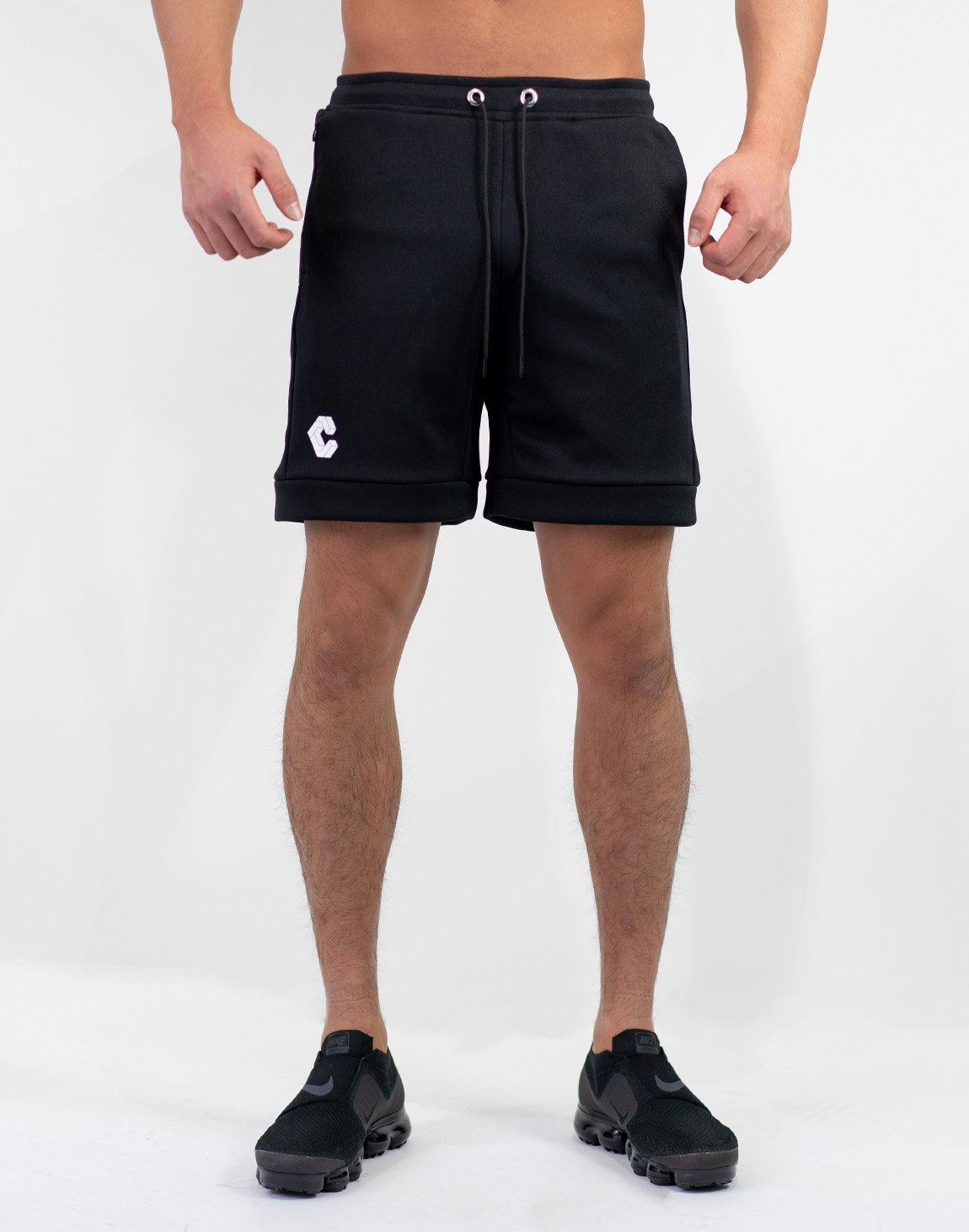 Side Logo Shorts Black