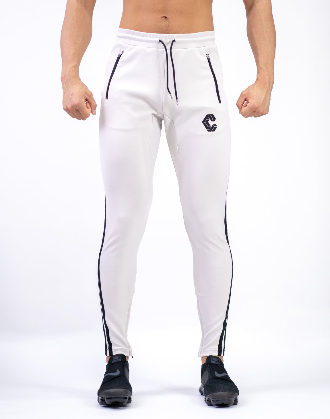 <img class='new_mark_img1' src='https://img.shop-pro.jp/img/new/icons1.gif' style='border:none;display:inline;margin:0px;padding:0px;width:auto;' />MODE CURVE STRIPE PANTS BEIGE
