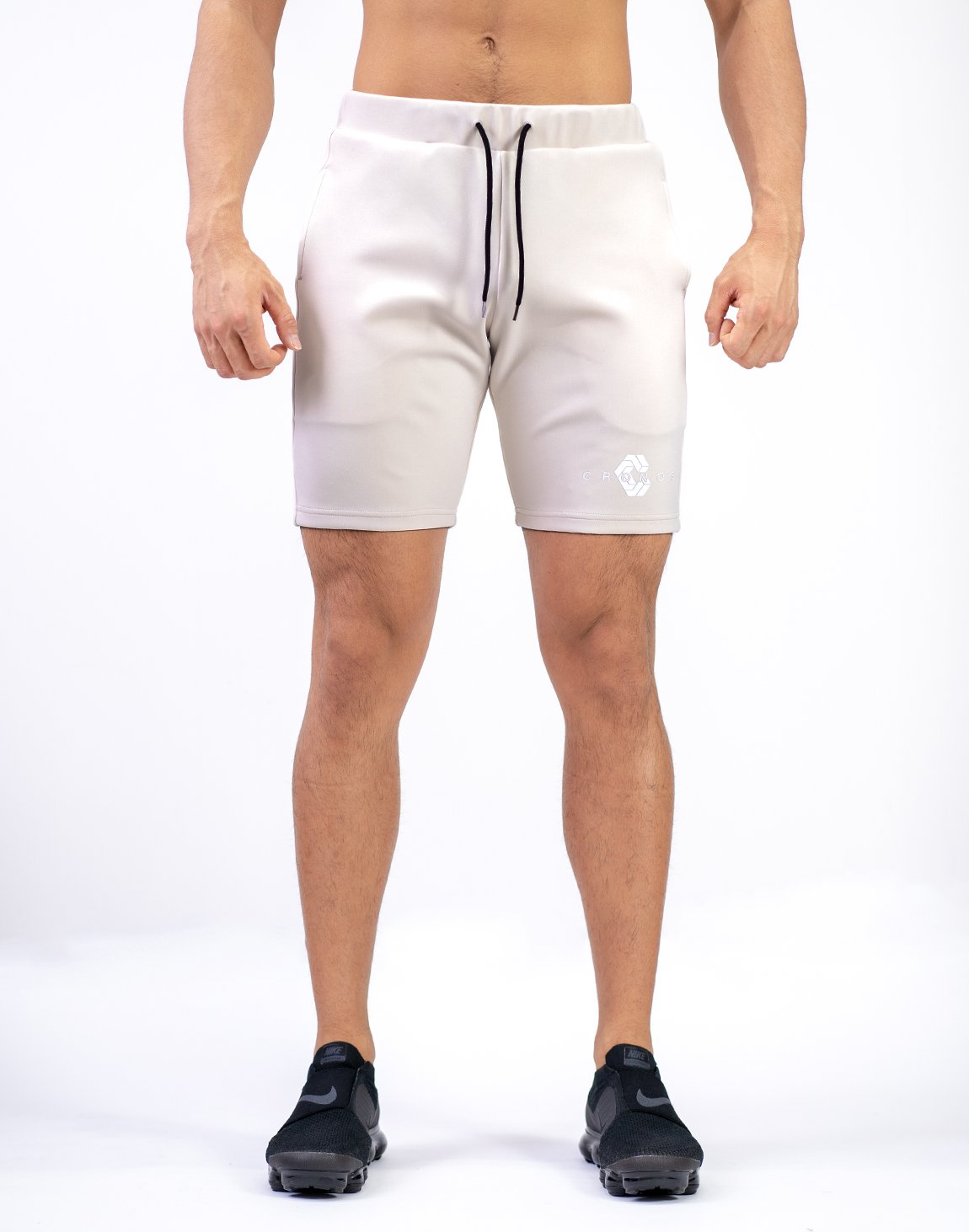 <img class='new_mark_img1' src='https://img.shop-pro.jp/img/new/icons55.gif' style='border:none;display:inline;margin:0px;padding:0px;width:auto;' />CRONOS NEW LOGO SHORTS  BEIGE