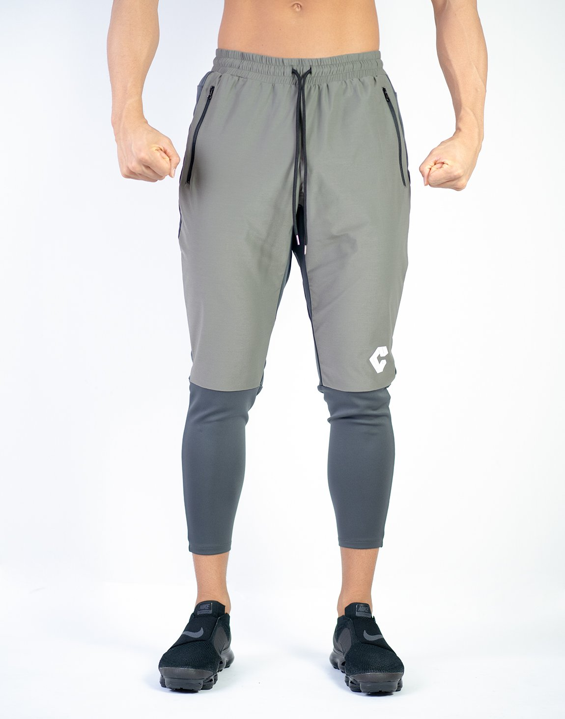 <img class='new_mark_img1' src='https://img.shop-pro.jp/img/new/icons1.gif' style='border:none;display:inline;margin:0px;padding:0px;width:auto;' />MODE BiCOLOR FIT PANTS KHA×GRAY