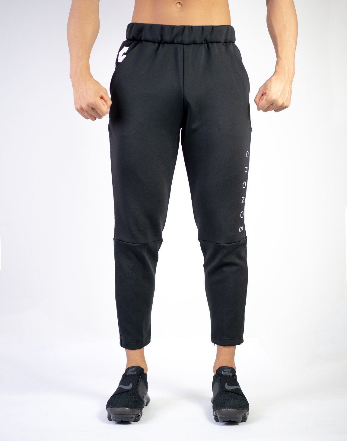 MODE BASIC DESIGN PANTS 02 BLACK