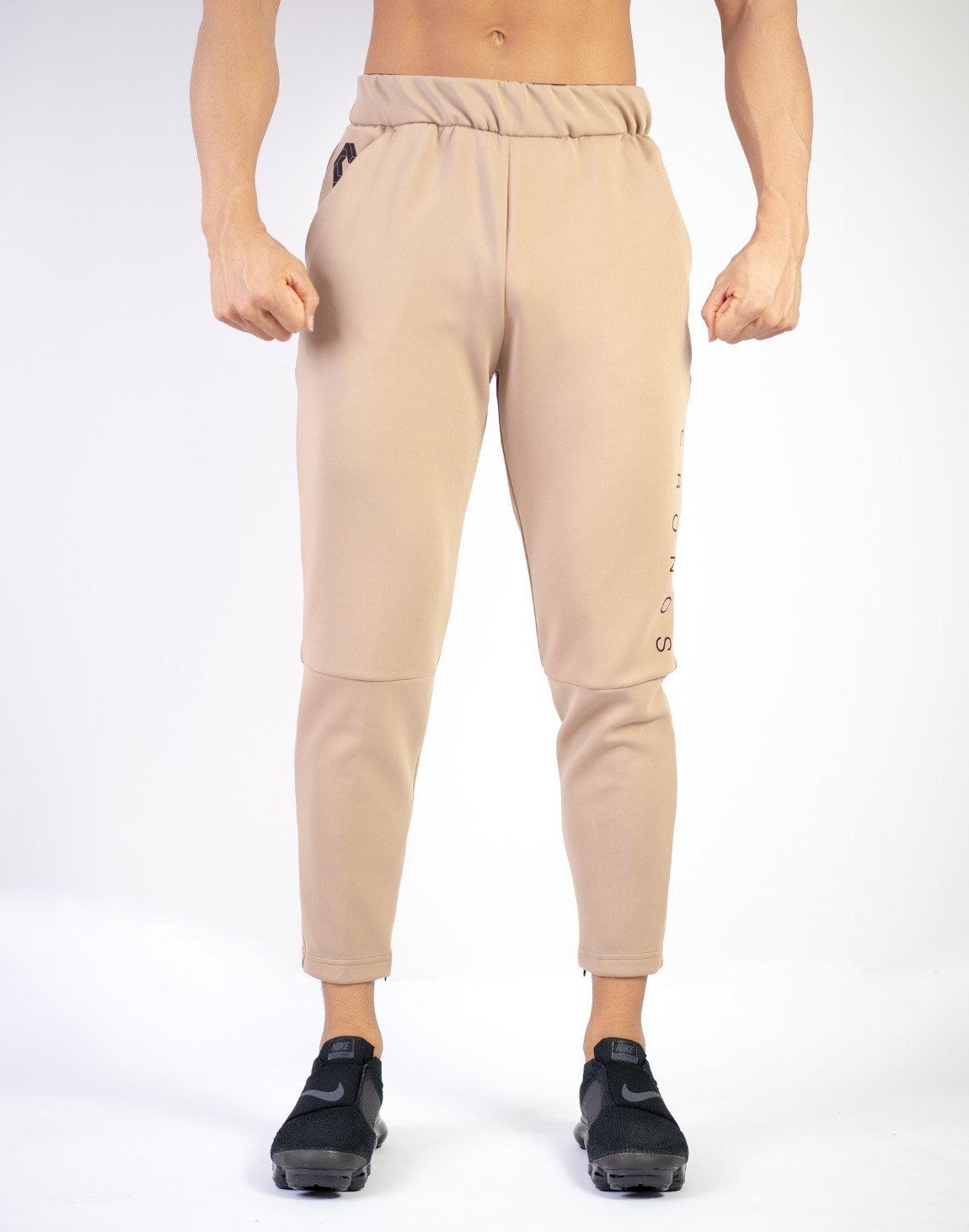 MODE BASIC DESIGN PANTS 02 BEIGE