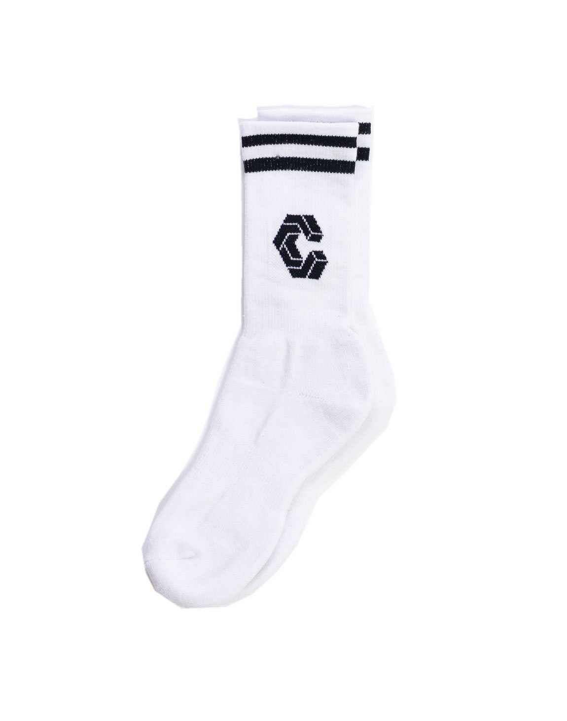 <img class='new_mark_img1' src='https://img.shop-pro.jp/img/new/icons1.gif' style='border:none;display:inline;margin:0px;padding:0px;width:auto;' />CRONOS BIG LOGO SOCKS WHITE