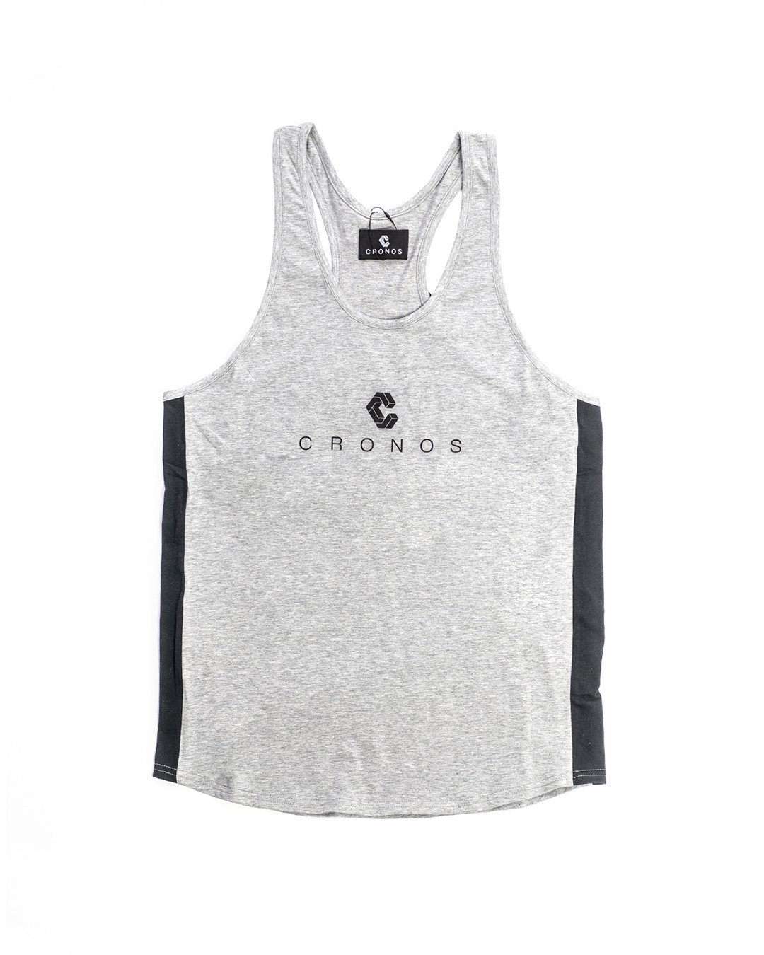 <img class='new_mark_img1' src='https://img.shop-pro.jp/img/new/icons1.gif' style='border:none;display:inline;margin:0px;padding:0px;width:auto;' />CRONOS SIDE COLOR   TANKTOP GRAY&BLACK