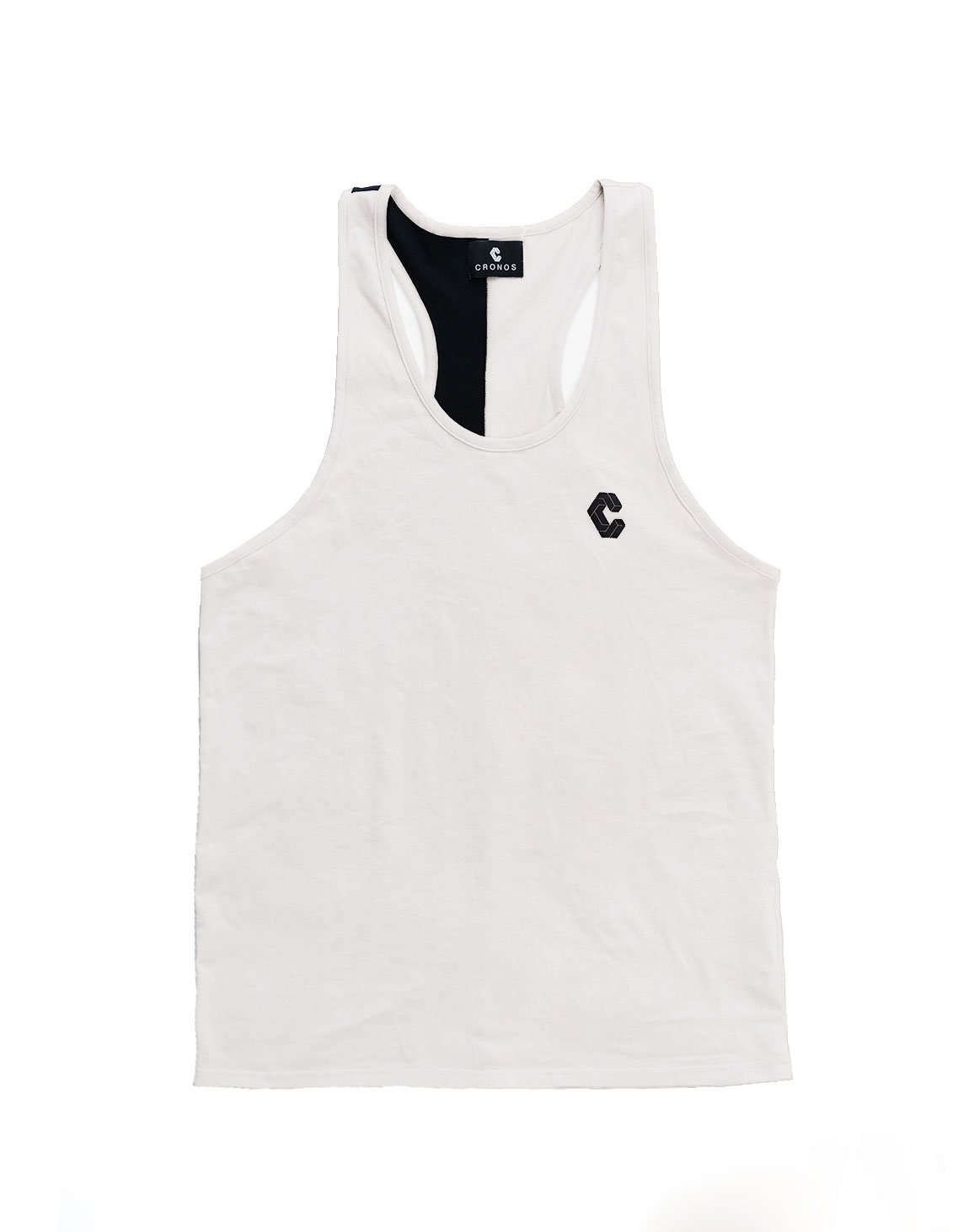 <img class='new_mark_img1' src='https://img.shop-pro.jp/img/new/icons1.gif' style='border:none;display:inline;margin:0px;padding:0px;width:auto;' />CRONOS BACK TWOLINE TANKTOP WHITE