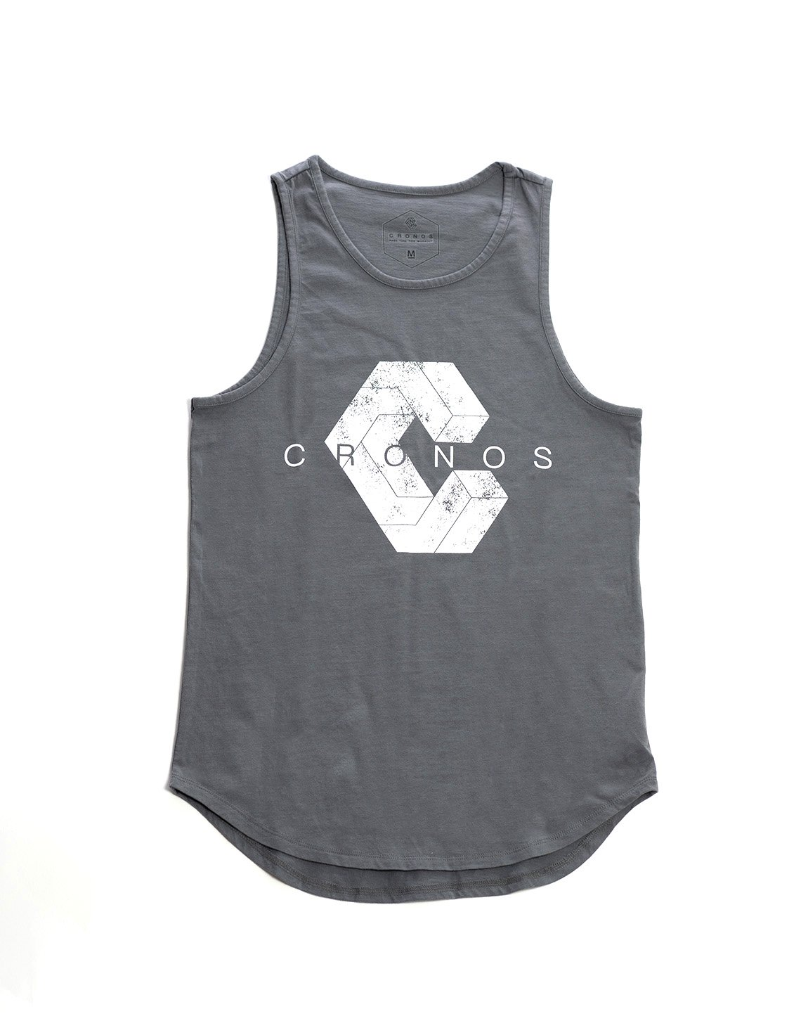 <img class='new_mark_img1' src='https://img.shop-pro.jp/img/new/icons55.gif' style='border:none;display:inline;margin:0px;padding:0px;width:auto;' />CRONOS NEW LOGO TANKTOP GRAY