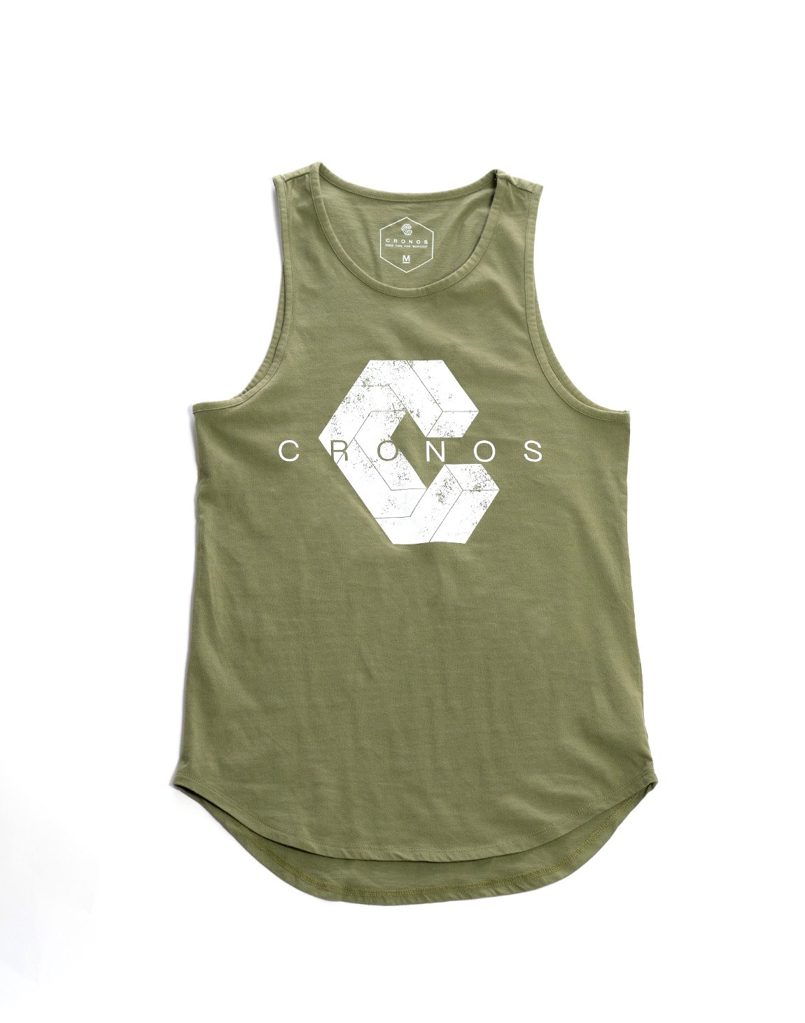 <img class='new_mark_img1' src='https://img.shop-pro.jp/img/new/icons1.gif' style='border:none;display:inline;margin:0px;padding:0px;width:auto;' />CRONOS NEW LOGO TANKTOP KHAKI