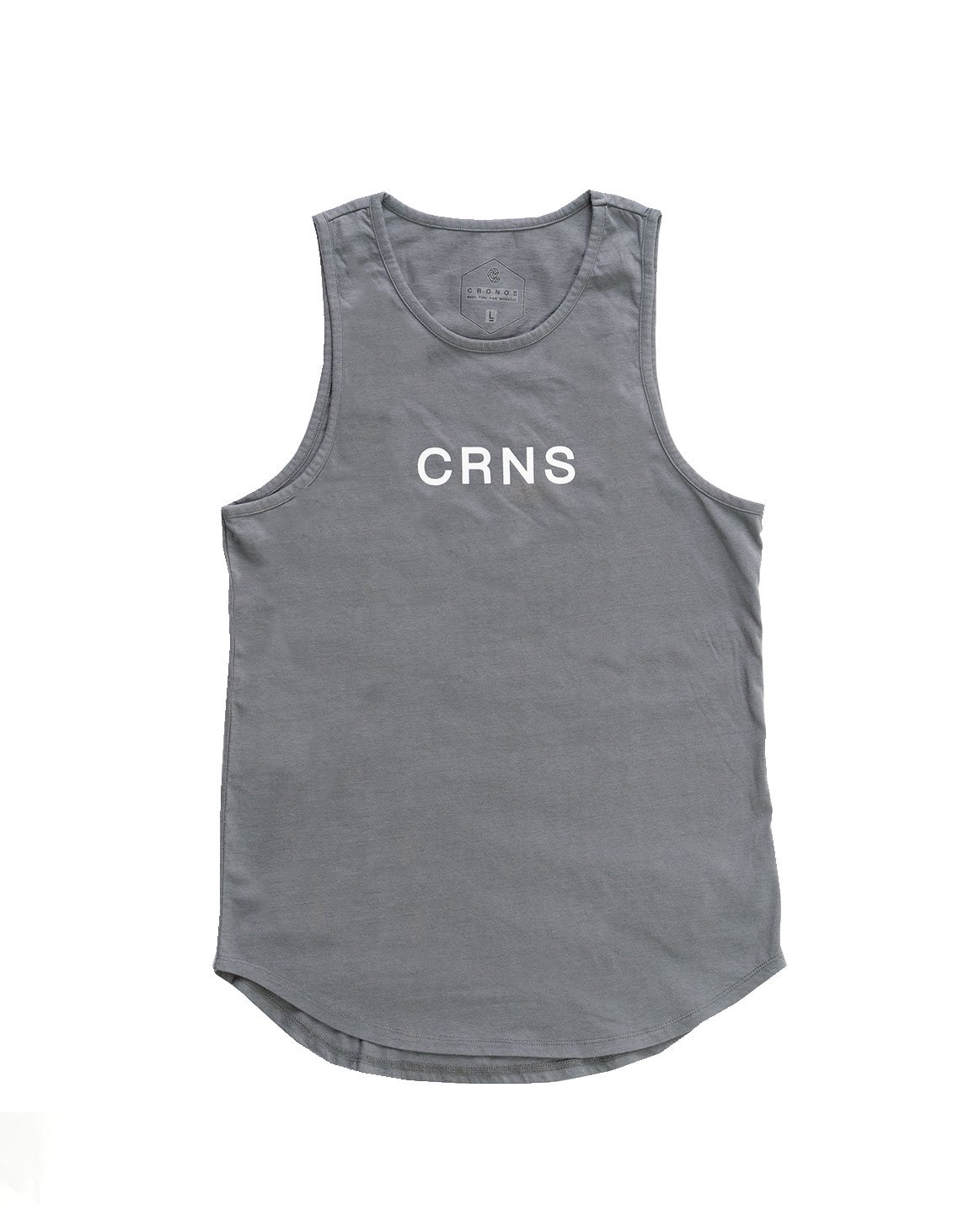 <img class='new_mark_img1' src='https://img.shop-pro.jp/img/new/icons1.gif' style='border:none;display:inline;margin:0px;padding:0px;width:auto;' />CRNS TANKTOP GRAY