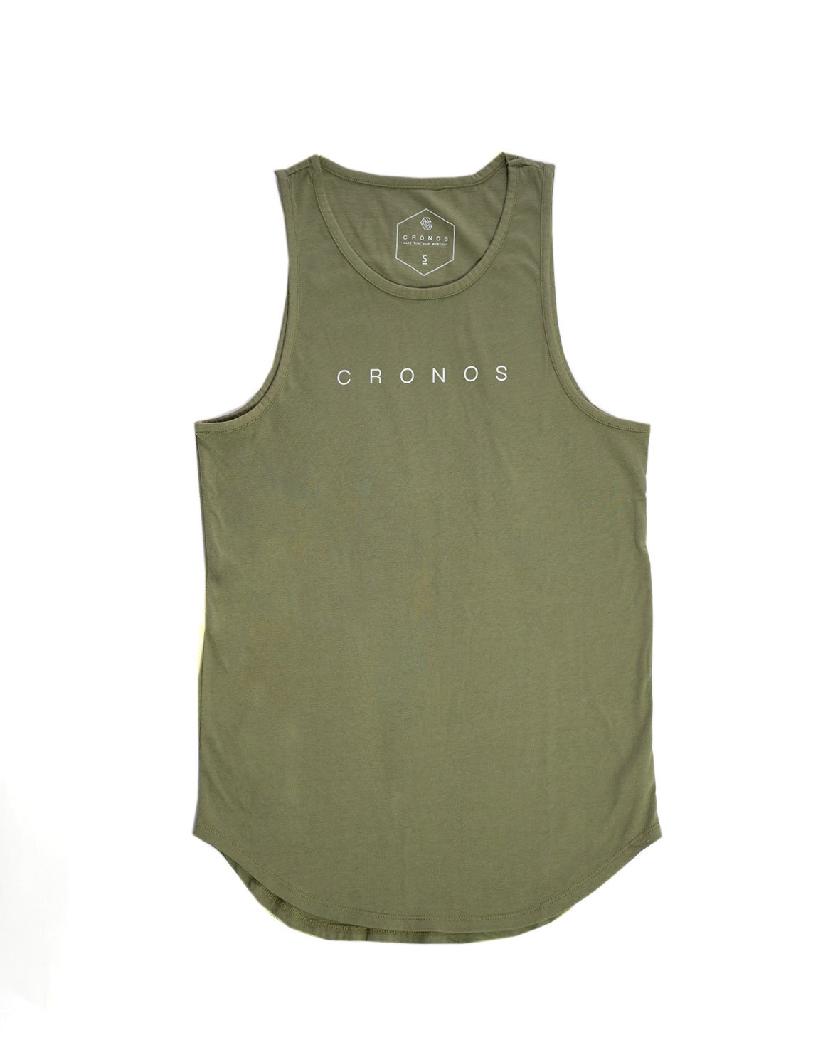 <img class='new_mark_img1' src='https://img.shop-pro.jp/img/new/icons1.gif' style='border:none;display:inline;margin:0px;padding:0px;width:auto;' />CRONOS LOGO TANKTOP KHAKI