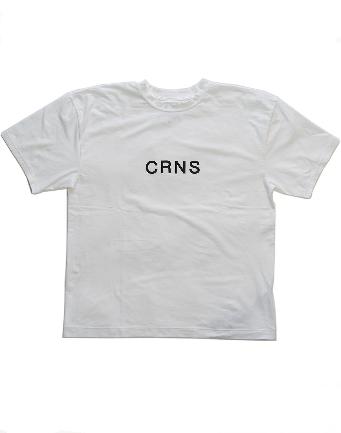 <img class='new_mark_img1' src='https://img.shop-pro.jp/img/new/icons1.gif' style='border:none;display:inline;margin:0px;padding:0px;width:auto;' />CRNS Over Size T-Shirt  WHITE
