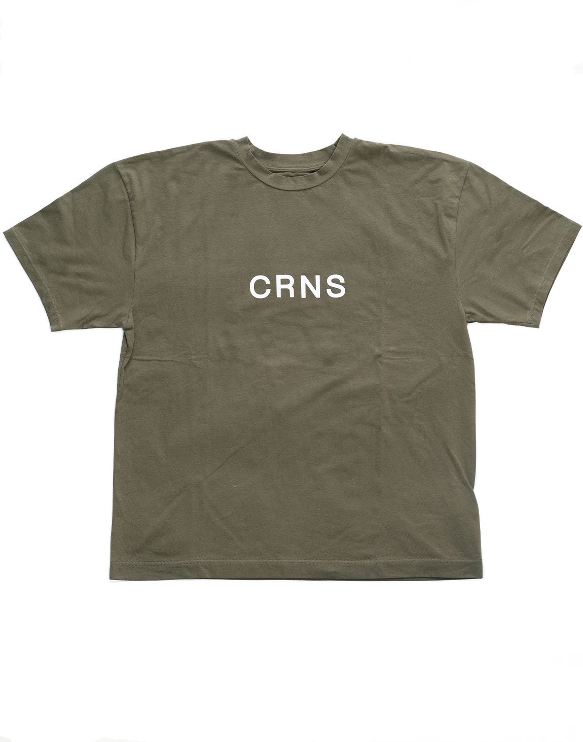 <img class='new_mark_img1' src='https://img.shop-pro.jp/img/new/icons1.gif' style='border:none;display:inline;margin:0px;padding:0px;width:auto;' />CRNS Over Size T-Shirt  KHAKI