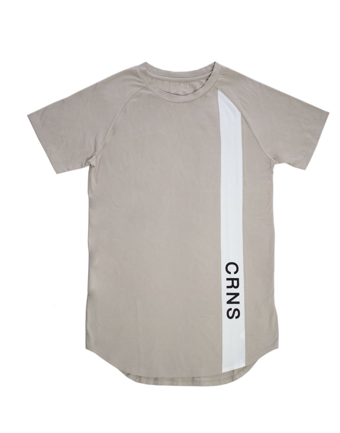 <img class='new_mark_img1' src='https://img.shop-pro.jp/img/new/icons1.gif' style='border:none;display:inline;margin:0px;padding:0px;width:auto;' />CRNS Line Fit T-Shirt  BEIGE
