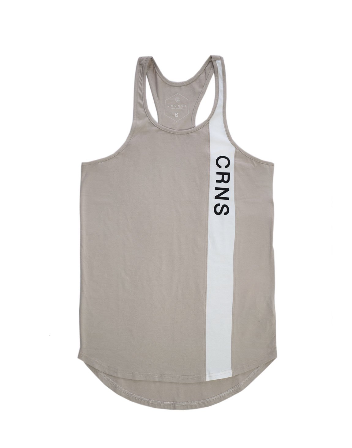 <img class='new_mark_img1' src='https://img.shop-pro.jp/img/new/icons1.gif' style='border:none;display:inline;margin:0px;padding:0px;width:auto;' />CRNS Line Tank top BEIGE