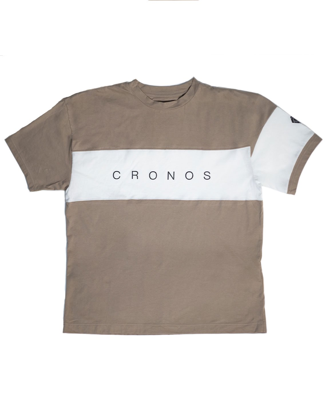<img class='new_mark_img1' src='https://img.shop-pro.jp/img/new/icons1.gif' style='border:none;display:inline;margin:0px;padding:0px;width:auto;' />CRONOS FRONT THICK LINE  T-SHIRT BEIGE