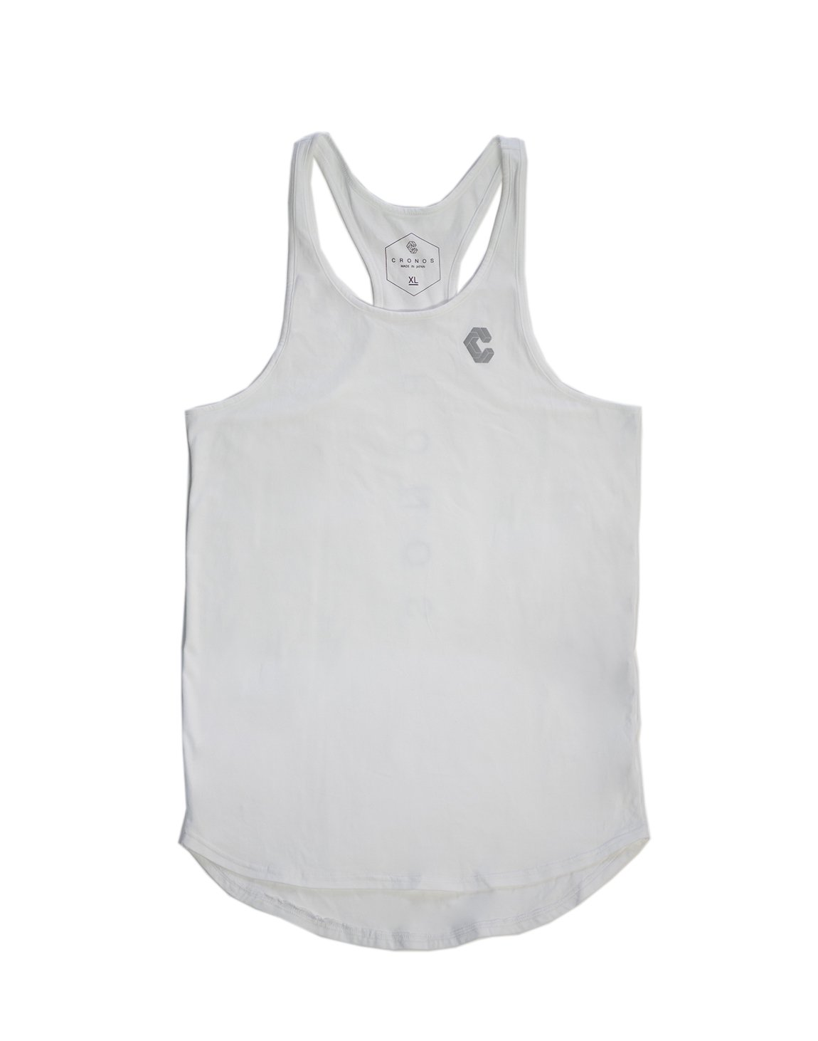 <img class='new_mark_img1' src='https://img.shop-pro.jp/img/new/icons1.gif' style='border:none;display:inline;margin:0px;padding:0px;width:auto;' />CRONOS BACK LOG TANK TOP WHITE
