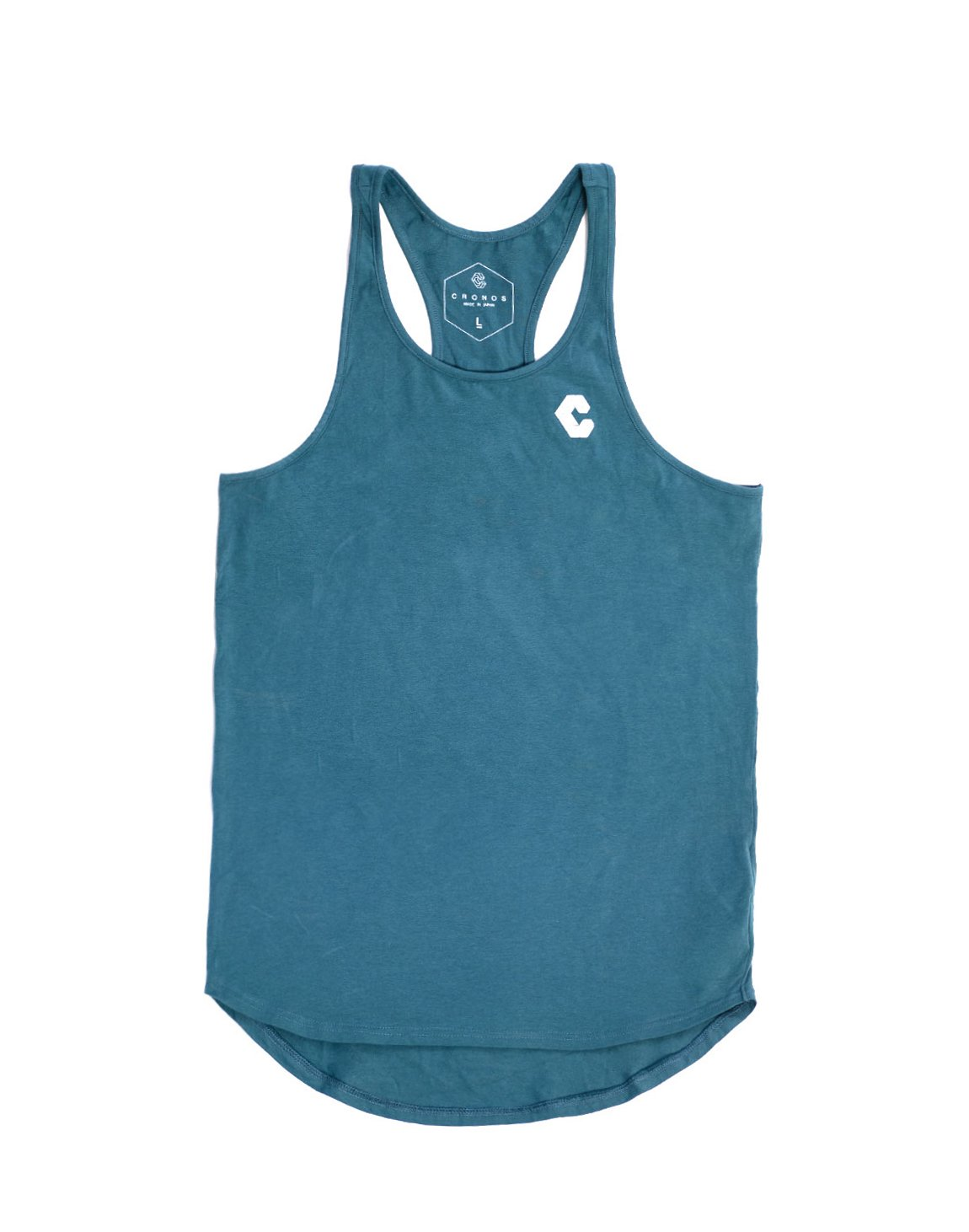 <img class='new_mark_img1' src='https://img.shop-pro.jp/img/new/icons1.gif' style='border:none;display:inline;margin:0px;padding:0px;width:auto;' />CRONOS BACK LOG TANK TOP TURQUOISE