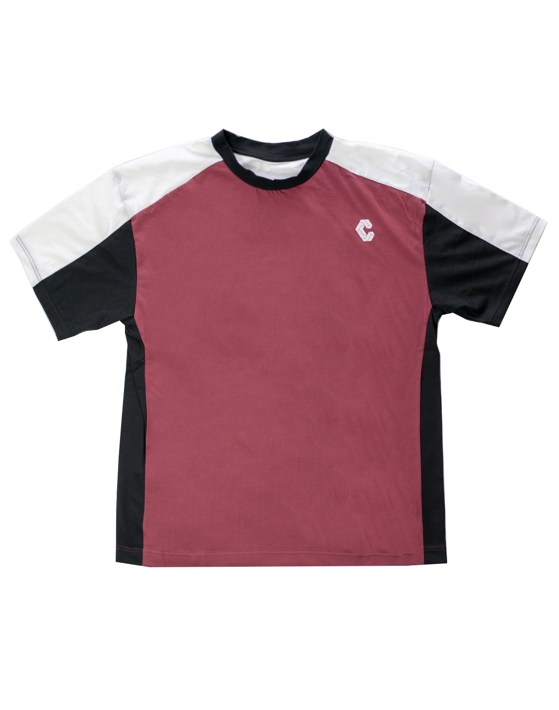 <img class='new_mark_img1' src='https://img.shop-pro.jp/img/new/icons1.gif' style='border:none;display:inline;margin:0px;padding:0px;width:auto;' />CRONOS BACK LOGO OVER SIZE  T-SHIRT RED