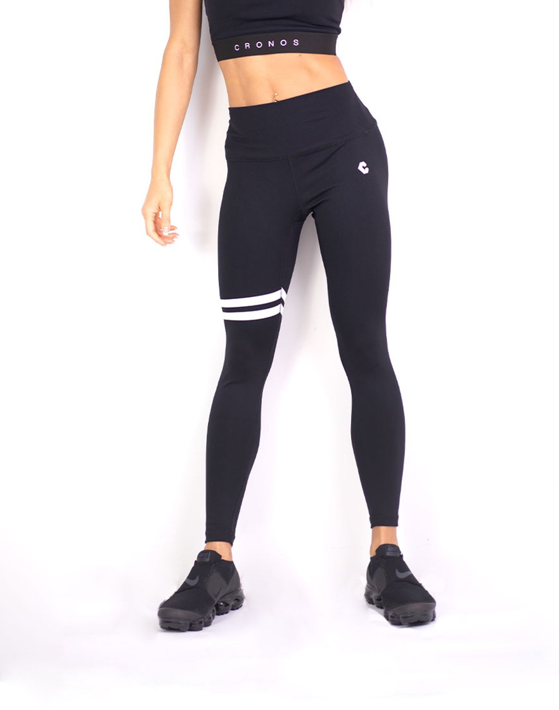 <img class='new_mark_img1' src='https://img.shop-pro.jp/img/new/icons1.gif' style='border:none;display:inline;margin:0px;padding:0px;width:auto;' />CRONOS 2LINE LEGGINS BLACK