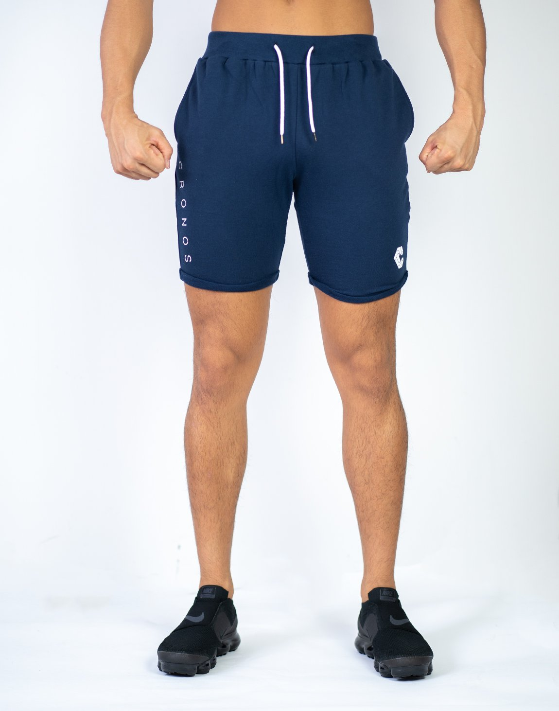 <img class='new_mark_img1' src='https://img.shop-pro.jp/img/new/icons55.gif' style='border:none;display:inline;margin:0px;padding:0px;width:auto;' />CRONOS PILE FABRIC SHORTS  NAVY