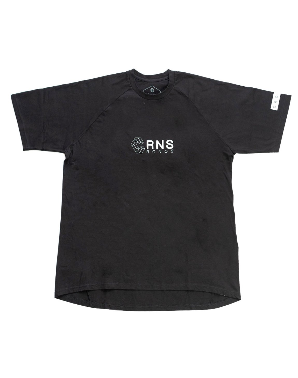 <img class='new_mark_img1' src='https://img.shop-pro.jp/img/new/icons1.gif' style='border:none;display:inline;margin:0px;padding:0px;width:auto;' />CRNS HEM ROUNDNESS T-SHIRTS 【BLACK】