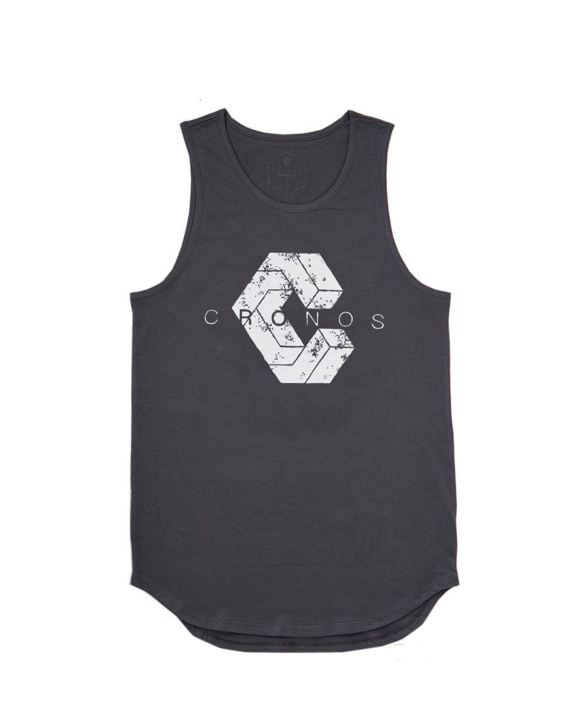 <img class='new_mark_img1' src='https://img.shop-pro.jp/img/new/icons1.gif' style='border:none;display:inline;margin:0px;padding:0px;width:auto;' />CRONOS NEW LOGO TANK TOP 【GRAY】