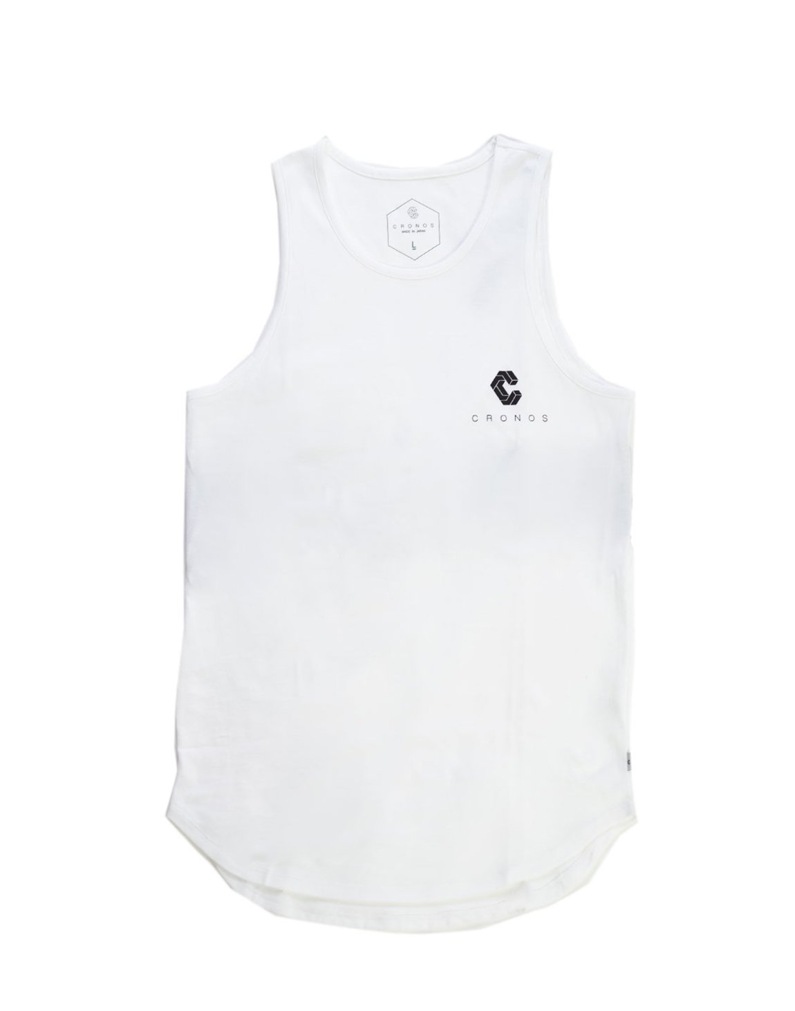 <img class='new_mark_img1' src='https://img.shop-pro.jp/img/new/icons1.gif' style='border:none;display:inline;margin:0px;padding:0px;width:auto;' />CRNS BACK BIG LOGO TANK TOP 【WHITE】