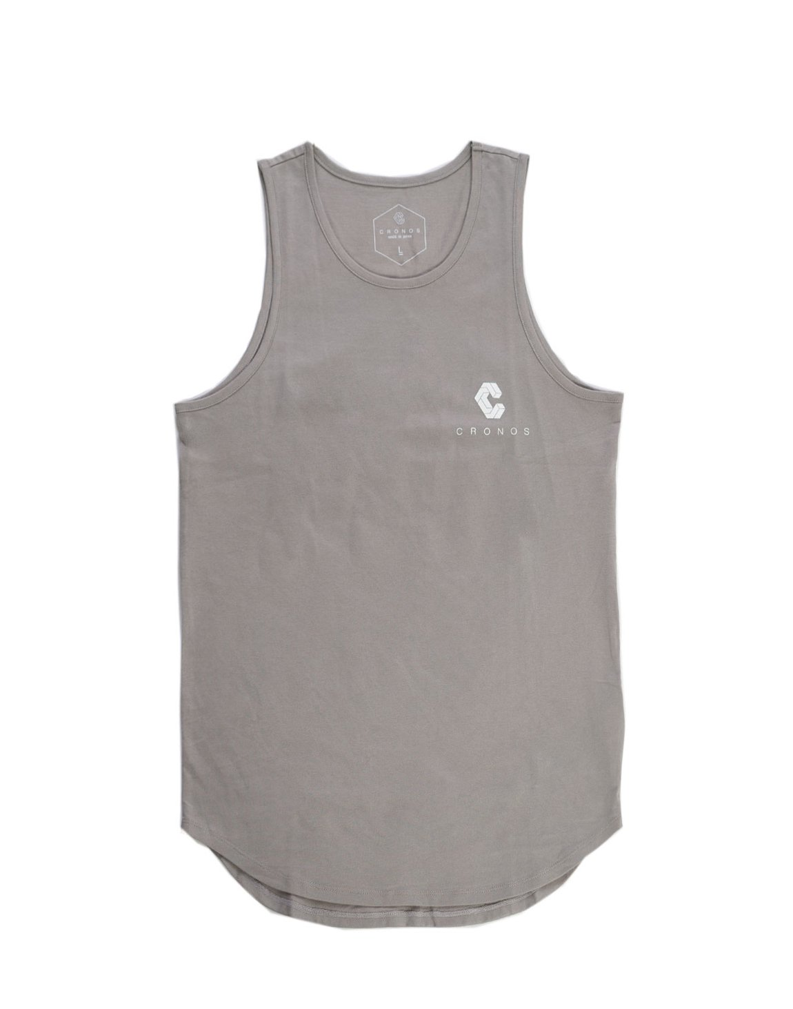 <img class='new_mark_img1' src='https://img.shop-pro.jp/img/new/icons1.gif' style='border:none;display:inline;margin:0px;padding:0px;width:auto;' />CRNS BACK BIG LOGO TANK TOP 【A.GRAY】