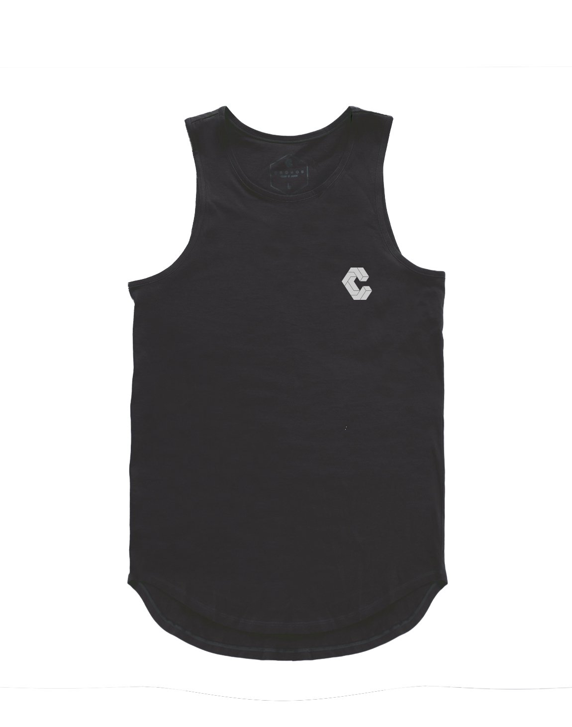 <img class='new_mark_img1' src='https://img.shop-pro.jp/img/new/icons1.gif' style='border:none;display:inline;margin:0px;padding:0px;width:auto;' />CRONOS BACK BOX LOGO TANK TOP 【BLACK】