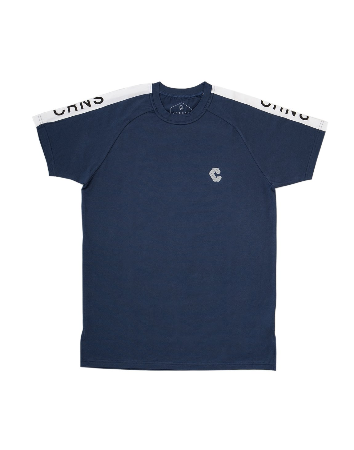 <img class='new_mark_img1' src='https://img.shop-pro.jp/img/new/icons55.gif' style='border:none;display:inline;margin:0px;padding:0px;width:auto;' />CRNS SHOULDER LOGO FIT T-SHIRTS 【NAVY】