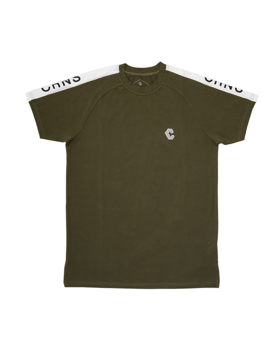 <img class='new_mark_img1' src='https://img.shop-pro.jp/img/new/icons55.gif' style='border:none;display:inline;margin:0px;padding:0px;width:auto;' />CRNS SHOULDER LOGO FIT T-SHIRTS 【OLIVE&KHAKI】