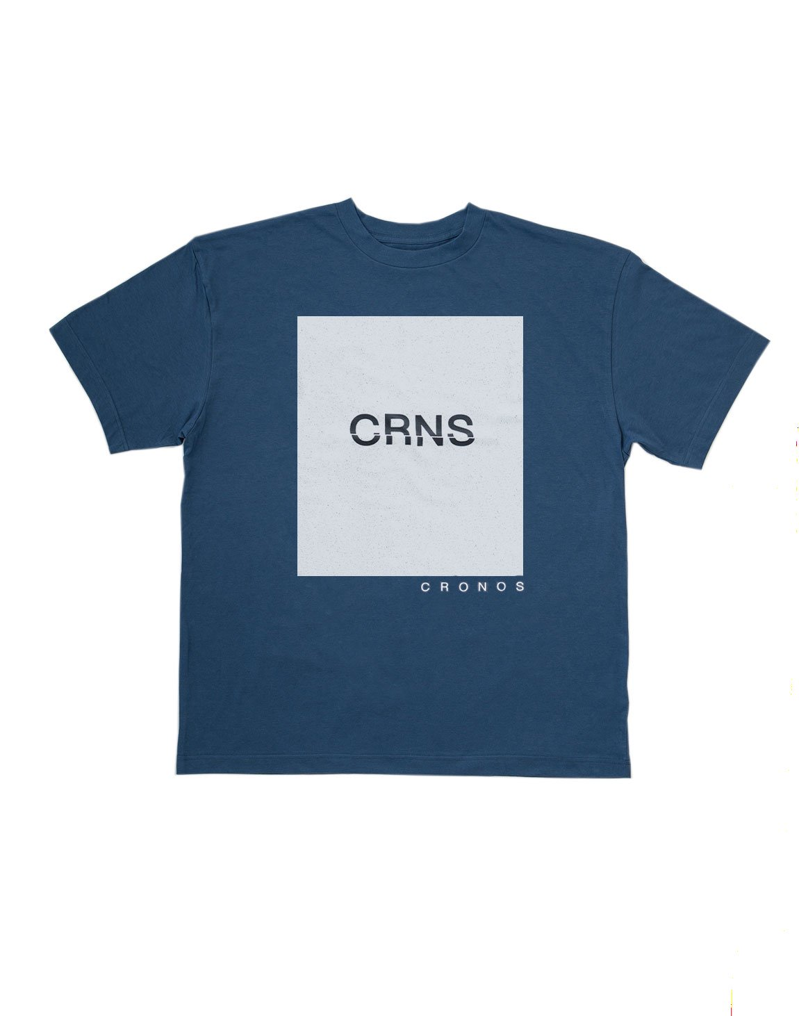 <img class='new_mark_img1' src='https://img.shop-pro.jp/img/new/icons55.gif' style='border:none;display:inline;margin:0px;padding:0px;width:auto;' />CRNS SQUARE PRINT OVER SIZE  T-SHIRT 【NAVY】