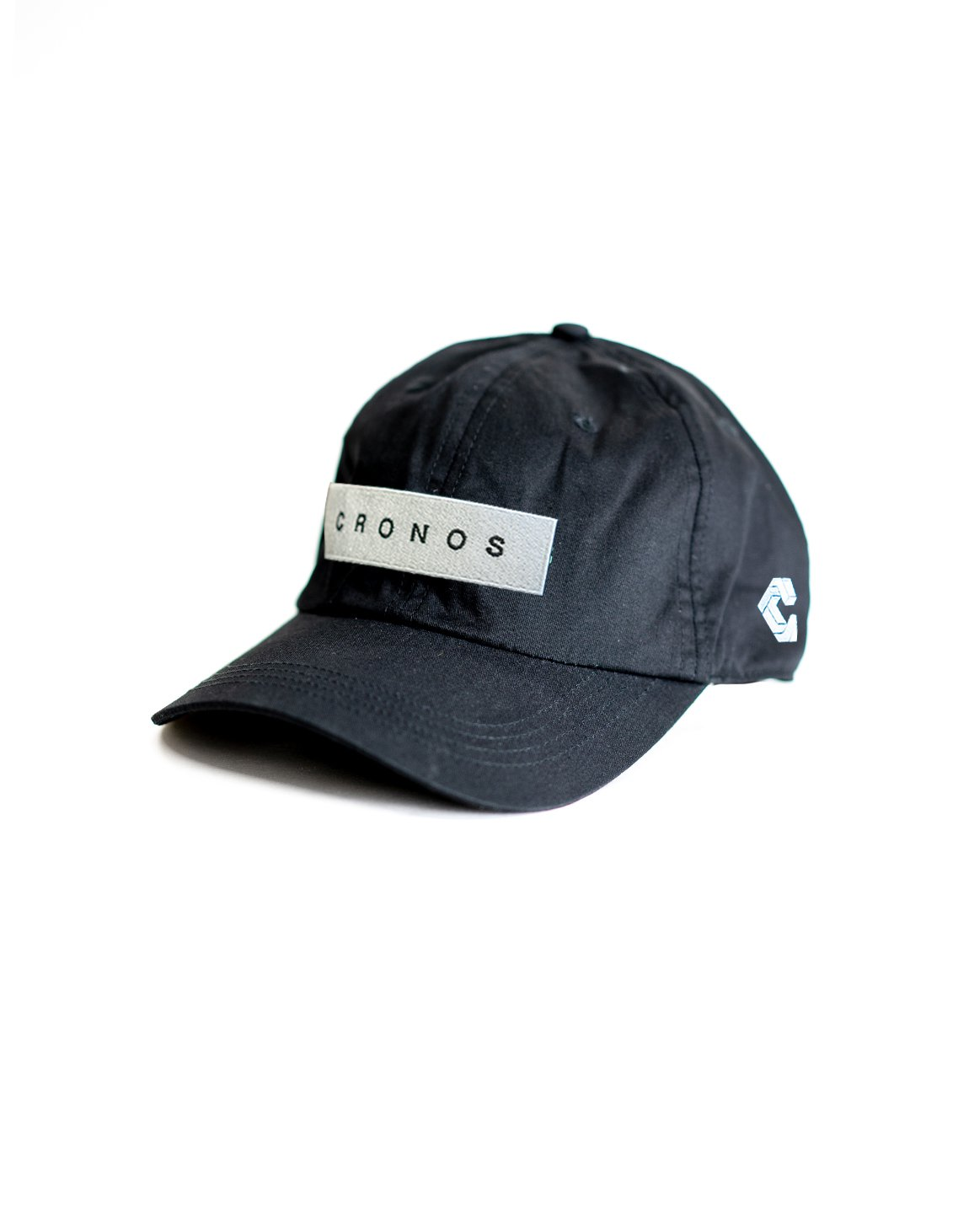 <img class='new_mark_img1' src='https://img.shop-pro.jp/img/new/icons1.gif' style='border:none;display:inline;margin:0px;padding:0px;width:auto;' />CRONOS BOX LOGO CAP 【BLACK】