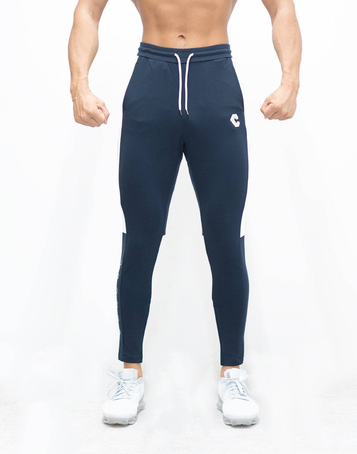 <img class='new_mark_img1' src='https://img.shop-pro.jp/img/new/icons1.gif' style='border:none;display:inline;margin:0px;padding:0px;width:auto;' />CRONOS SIDE HALF LINE PANTS 【NAVY】